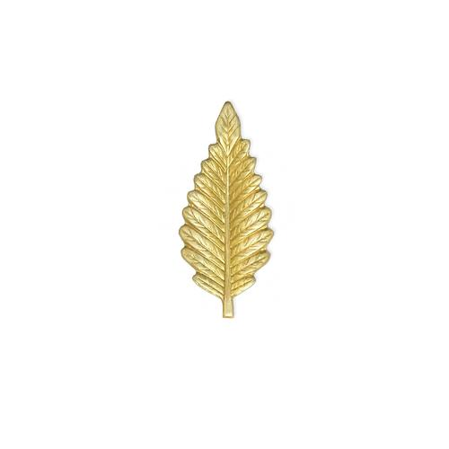 Leaf/Feather - Item # S8413 - Salvadore Tool & Findings, Inc.