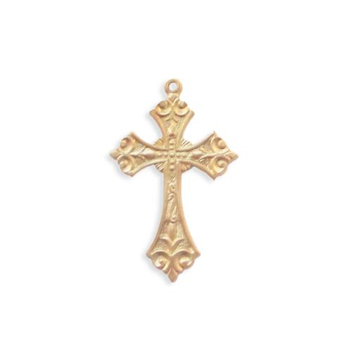 Cross Charm/Pendant - Item # F1957 - Salvadore Tool & Findings, Inc.