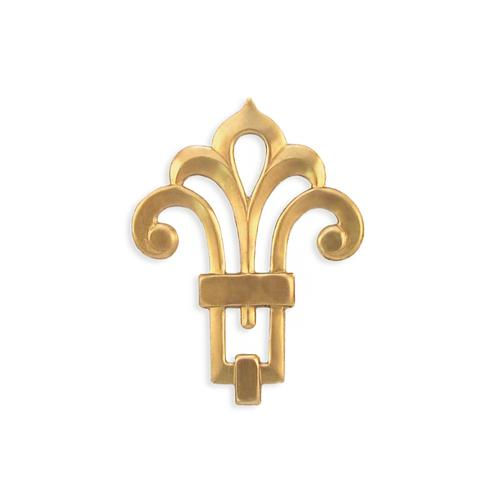 Fleur De Lis - Item # F3001 - Salvadore Tool & Findings, Inc.