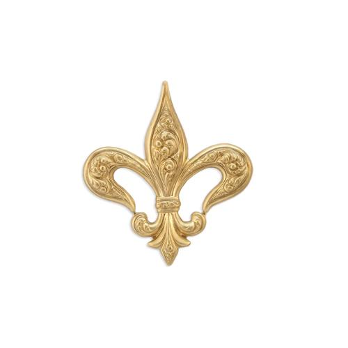 Fleur De Lis - Item # F416 - Salvadore Tool & Findings, Inc.