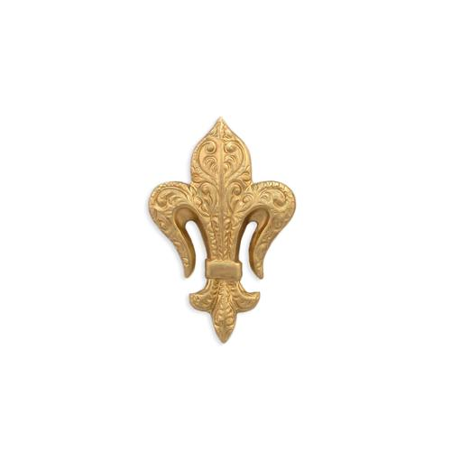 Fleur De Lis - Item # F963 - Salvadore Tool & Findings, Inc.