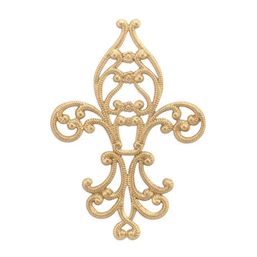 Fleur De Lis - Item # FA14221 - Salvadore Tool & Findings, Inc.