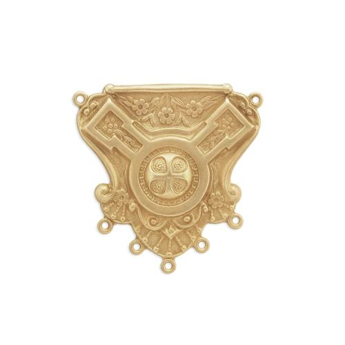 Ornate Floral Connector - Item # FA14223 - Salvadore Tool & Findings, Inc.