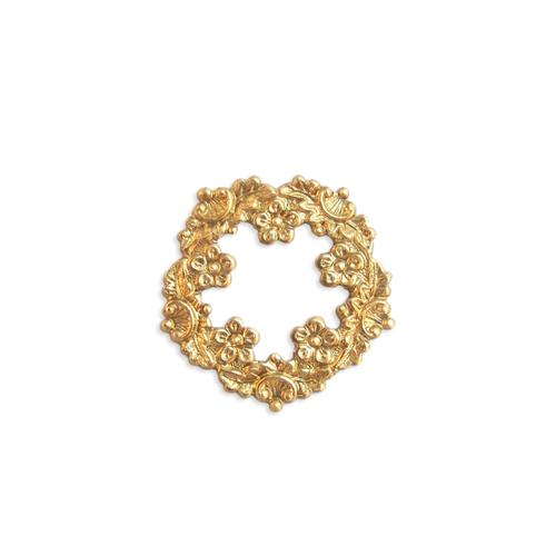 Floral Wreath - Item # FA14281 - Salvadore Tool & Findings, Inc.