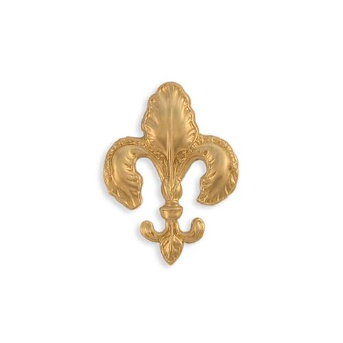 Fleur De Lis - Item # FA1738 - Salvadore Tool & Findings, Inc.