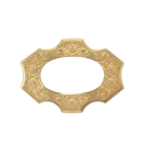 Floral Frame - Item # FA2712 - Salvadore Tool & Findings, Inc.
