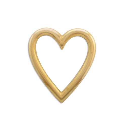 Heart Frame - Item # FA5402 - Salvadore Tool & Findings, Inc.