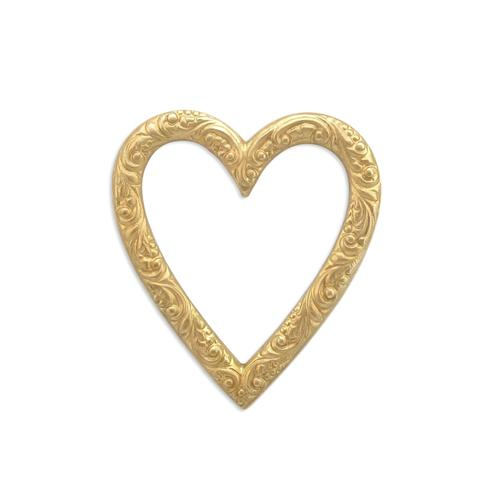 Heart Frame - Item # FA5403 - Salvadore Tool & Findings, Inc.