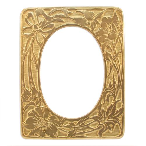 Floral Frame - Item # FA7391 - Salvadore Tool & Findings, Inc.