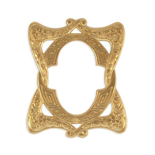 Floral Frame - Item # FA7857 - Salvadore Tool & Findings, Inc.