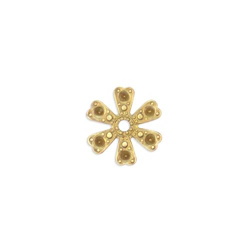 Flower Multi Stone Setting - Item # S1118 - Salvadore Tool & Findings, Inc.