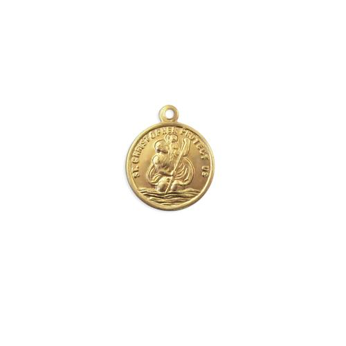 St. Christopher Charm - Item # S2391 - Salvadore Tool & Findings, Inc.