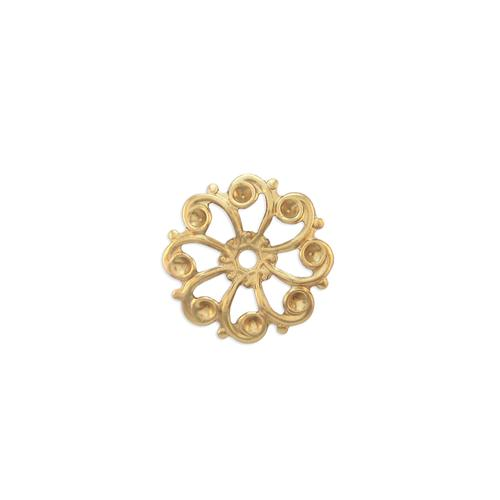 Filigree Multi Stone Setting  - Item # S351 - Salvadore Tool & Findings, Inc.