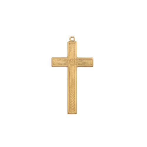 Cross w/ring - Item # S3715 - Salvadore Tool & Findings, Inc.