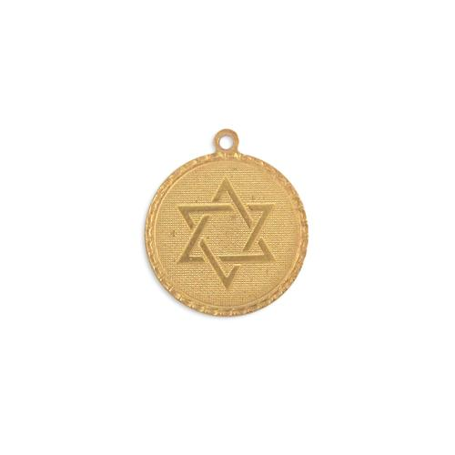 Star of David Charm - Item # S3756 - Salvadore Tool & Findings, Inc.