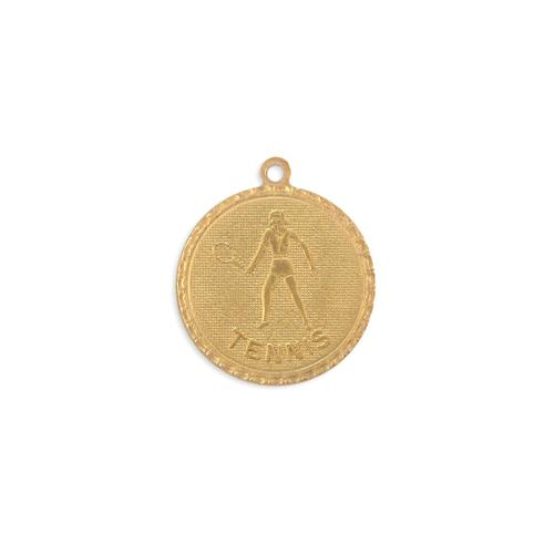 Tennis Charm - Item # S3761 - Salvadore Tool & Findings, Inc.