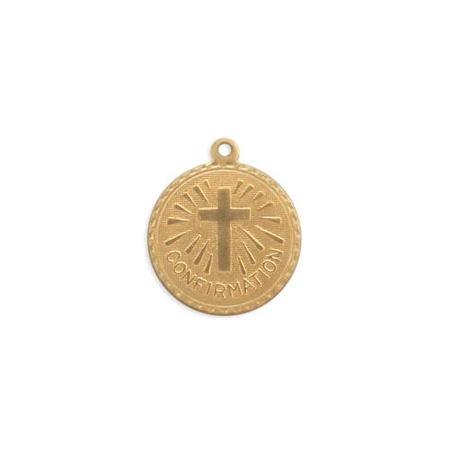 Confirmation Charm - Item # S3781 - Salvadore Tool & Findings, Inc.