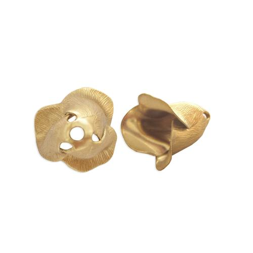 Floral Bead Cap w/hole - Item # S3883 - Salvadore Tool & Findings, Inc.