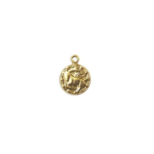 Capricorn Charm - Item # S4445 - Salvadore Tool & Findings, Inc.