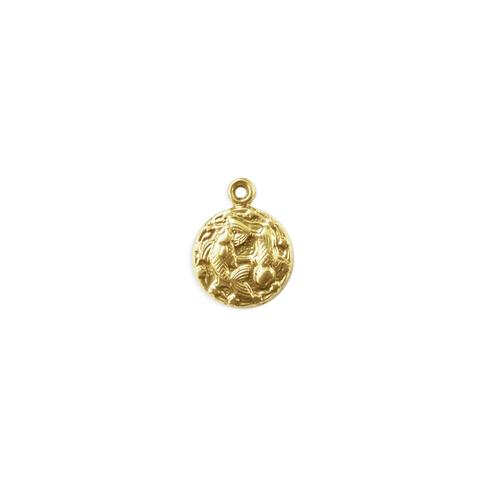 Pisces Charm - Item # S4449 - Salvadore Tool & Findings, Inc.