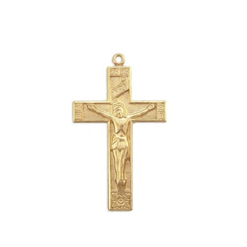 Crucifix w/ring - Item # S5459 - Salvadore Tool & Findings, Inc.