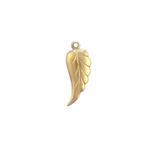 Feather Charm - Item # S7256 - Salvadore Tool & Findings, Inc.