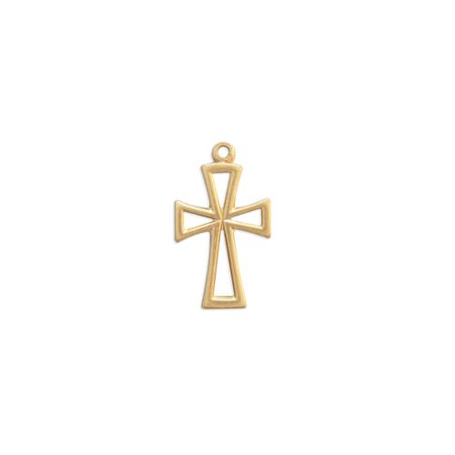Cross w/ring - Item # S7273 - Salvadore Tool & Findings, Inc.
