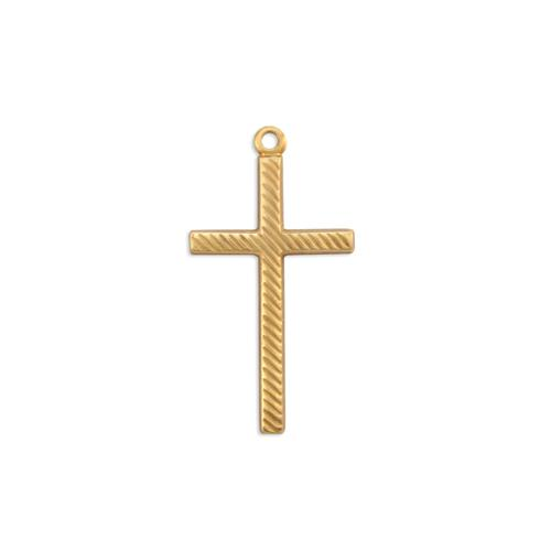 Cross w/ring - Item # S7476 - Salvadore Tool & Findings, Inc.