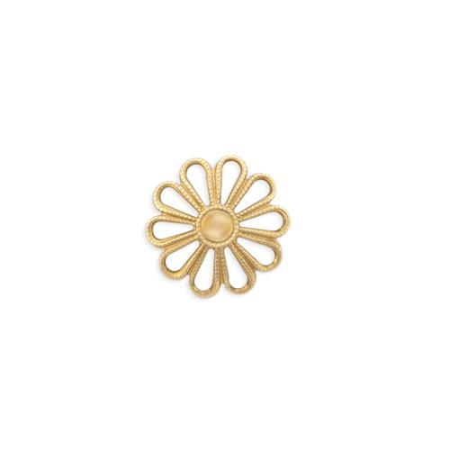 Flower Filigree Bead Cap - Item # S9015-1 - Salvadore Tool & Findings, Inc.