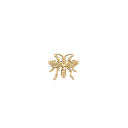 Bee w/ stone setting - Item # S9267 - Salvadore Tool & Findings, Inc.