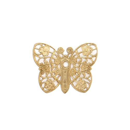 Filigree Butterfly - Item # S9289-1 - Salvadore Tool & Findings, Inc.