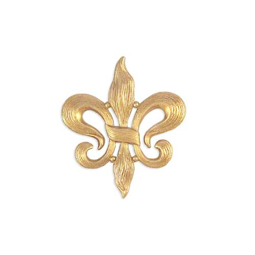 Fleur De Lis - Item # S9571 - Salvadore Tool & Findings, Inc.