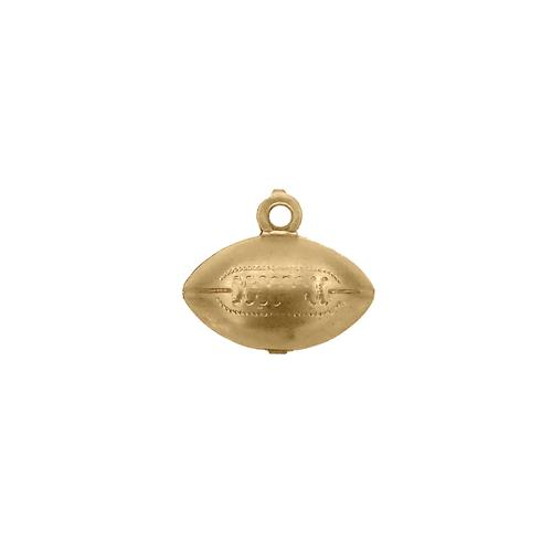 Football Charm - Item # SG1744R - Salvadore Tool & Findings, Inc.