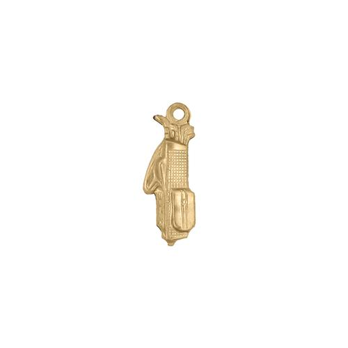 Golfing Charm - Item # SG2115R - Salvadore Tool & Findings, Inc.