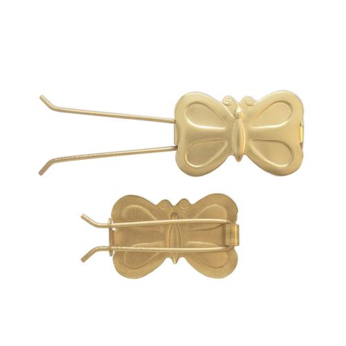 Butterfly Barrette - Item # SG3909W/W - Salvadore Tool & Findings, Inc.