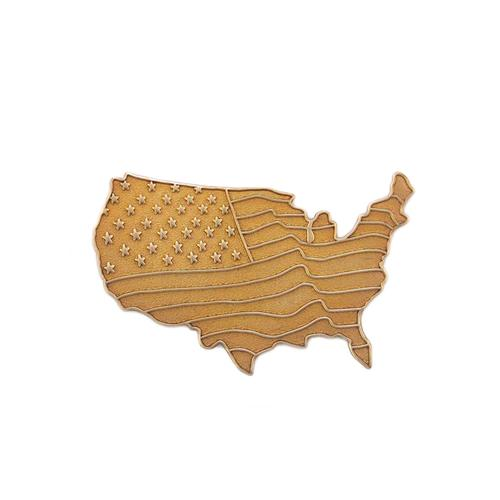 United States w/flag - Item # SG9044 - Salvadore Tool & Findings, Inc.