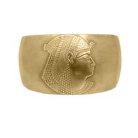 Egyptian Cuff Bracelet - Item # SG3281 - Salvadore Tool & Findings, Inc.