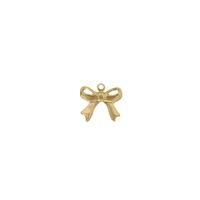 Bow Charm - Item # SG3896R - Salvadore Tool & Findings, Inc.