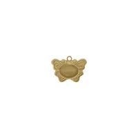 Butterfly Charm w/setting - Item # SG3915R - Salvadore Tool & Findings, Inc.
