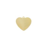 Blank Heart Tag - Item # SG4829R - Salvadore Tool & Findings, Inc.