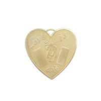Heart - Item # S5779 - Salvadore Tool & Findings, Inc.