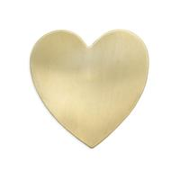 Heart Blank - Item # S6481 - Salvadore Tool & Findings, Inc.