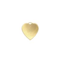 Heart Charm - Item # S6535 - Salvadore Tool & Findings, Inc.