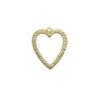 Heart - Item # S6712 - Salvadore Tool & Findings, Inc.