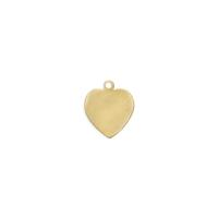 Heart Charm - Item # S6931 - Salvadore Tool & Findings, Inc.