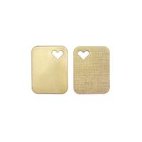 Heart Tag - Item # S7006 - Salvadore Tool & Findings, Inc.