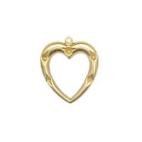 Heart w/stone settings - Item # S7224 - Salvadore Tool & Findings, Inc.