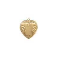 Floral Heart - Item # S9576-1 - Salvadore Tool & Findings, Inc.
