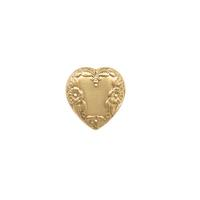 Floral Heart - Item # S9576 - Salvadore Tool & Findings, Inc.