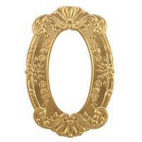Ornate Floral Frame - Item # FA6574 - Salvadore Tool & Findings, Inc.